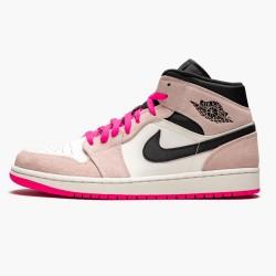 "Air Jordan 1 Mid ""Crimson Tint"" 852542-801"