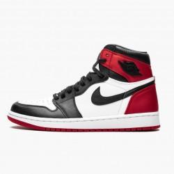 """Air Jordan 1 High OG """"Satin Black Toe"""" CD0461-016"""