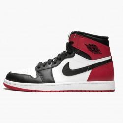 """Air Jordan 1 Retro High """"Black Toe"""" 555088-184"""