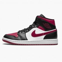 """Air Jordan 1 Mid """"Bred Toe"""" 554724-066"""