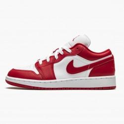 """Air Jordan 1 Low """"Gym Red white"""" 553560-611"""